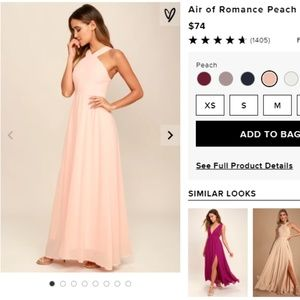 Lulu Air of Romance Bridesmaid MaxiDress